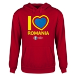 Romania Euro 2016 Heart Youth Hoody (Red)