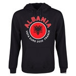 Albania Euro 2016 Fashion Youth Hoody (Black)