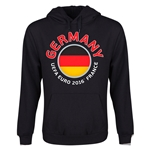 Germany Euro 2016 Fashion Youth Hoody (Black)