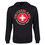 Switzerland Euro 2016 Fashion Youth Hoody (Black)