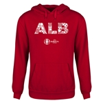 Albania Euro 2016 Elements Youth Hoody (Red)