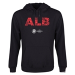 Albania Euro 2016 Elements Youth Hoody (Black)