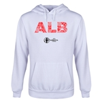 Albania Euro 2016 Elements Youth Hoody (White)
