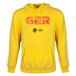 Germany Euro 2016 Elements Youth Hoody (Yellow)