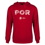 Portugal Euro 2016 Elements Youth Hoody (Red)
