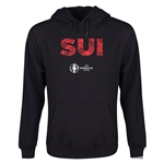 Switzerland Euro 2016 Elements Youth Hoody (Black)