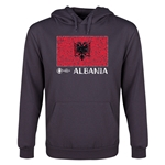 Albania Euro 2016 Fashion Flag Youth Hoody (Dark Grey)