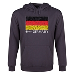 Germany Euro 2016 Fashion Flag Youth Hoody (Dark Grey)