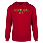 Portugal Euro 2016 Core Youth Hoody (Red)
