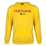 Portugal Euro 2016 Core Youth Hoody (Yellow)