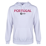 Portugal Euro 2016 Core Youth Hoody (White)