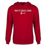 Switzerland Euro 2016 Core Youth Hoody (Red)