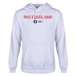 Switzerland Euro 2016 Core Youth Hoody (White)