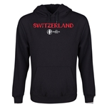 Switzerland Euro 2016 Core Youth Hoody (Black)
