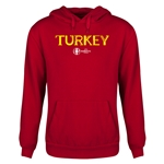 Turkey Euro 2016 Core Youth Hoody (Red)