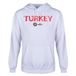 Turkey Euro 2016 Core Youth Hoody (White)