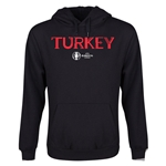Turkey Euro 2016 Core Youth Hoody (Black)