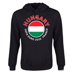 Hungary Euro 2016 Fashion Youth Hoody (Black)