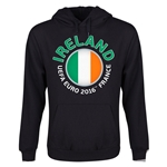 Ireland Euro 2016 Fashion Youth Hoody (Black)
