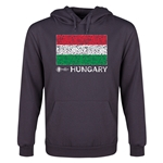 Hungary Euro 2016 Fashion Flag Youth Hoody (Dark Grey)