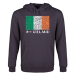 Ireland Euro 2016 Fashion Flag Youth Hoody (Dark Grey)