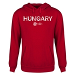 Hungary Euro 2016 Core Youth Hoody (Red)