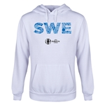 Sweden Euro 2016 Elements Youth Hoody (White)