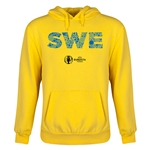 Sweden Euro 2016 Elements Youth Hoody (Yellow)