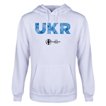 Ukraine Euro 2016 Elements Youth Hoody (White)