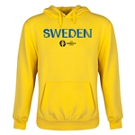 Sweden Euro 2016 Core Youth Hoody (Yellow)