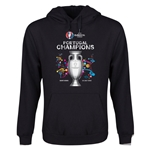 Portugal UEFA Euro 2016 Champions Youth Hoody (Black)