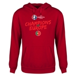Portugal UEFA Euro 2016 Champions Youth Hoody (Red)
