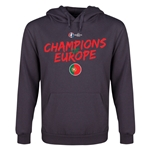 Portugal UEFA Euro 2016 Champions Youth Hoody (Dark Gray)