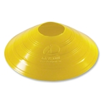 Kwik Goal 25 Pack of Disc Cones (Yellow)
