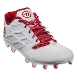 Warrior Burn 8.0 Low (White/Red)