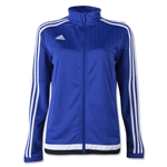 adidas Tiro 15 Women's Training Jacket (Royal)