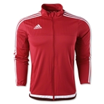 adidas Tiro 15 Training Jacket (Red)