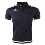 adidas Tiro 15 CL Polo (Black)