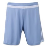 adidas MLS 15 Match Soccer Shorts (Sk/Wh)