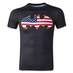 Under Armour Alter Ego Youth USA Batman Compression Shirt (Black)