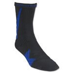 Under Armour Undeniable Crew Sock (Blk/Royal)
