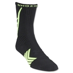 Under Armour Undeniable Crew Sock (Blk/Yellow)