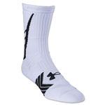 Under Armour Undeniable Crew Sock Sock (Wh/Bk)