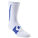 Under Armour Undeniable Crew Sock (Wh/Ro)