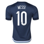 Argentina 2015 MESSI Away Soccer Jersey