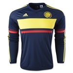 Colombia 2015 LS Away Soccer Jersey