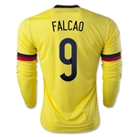 Colombia 2015 FALCAO LS Home Soccer Jersey
