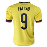 Colombia 2015 FALCAO Youth Home Soccer Jersey