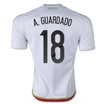 Mexico 2015 A. GUARDADO Away Soccer Jersey