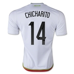 Mexico 2016 CHICHARITO Away Soccer Jersey